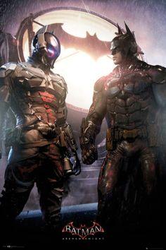 Poster BATMAN - Arkham Knights - http://rockagogo.com