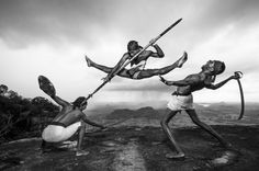 Breathtaking Photos Of An Old Sri Lankan Martial Art