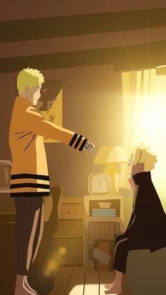 Naruto and Boruto <3