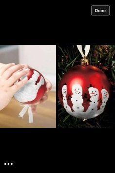 DIY Christmas ornament- aveline's first christmas