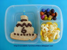 Mamabelly's Lunches With Love: Birthday Bento