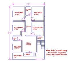 Design Discover Ghar Expert:Email to Friend Ft House Plans House Plan Model House Plan Open Floor House Plans House Layout Plans Family House Plans Bedroom House Plans House Layouts Best Small House Designs 1200sq Ft House Plans, 30x50 House Plans, 2bhk House Plan, Open Floor House Plans, Simple House Plans, Model House Plan, House Layout Plans, Simple House Design, Family House Plans