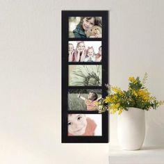 Adeco 5-opening 4x6 Collage Black Photo Frame - Walmart.com
