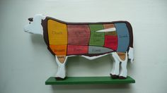 COW SCULPTURE by Jimmyshandmade on Etsy, $20.99