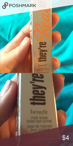 Benefit Tinted Lash Primer They're Real Never used new in box. 0.1 oz Benefit Makeup