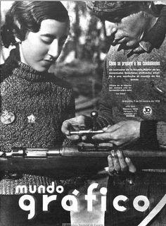 Spain - 1936. - GC - Durante la segunda república española y la guerra civil, las mujeres españolas ocuparon una parte del espacio público, se hicieron más visibles, de una forma que luego les sería negada tras la victoria de los fascistas y la larga dictadura franquista.