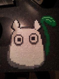 Totoro perler bead sprite by SushiMarioBros