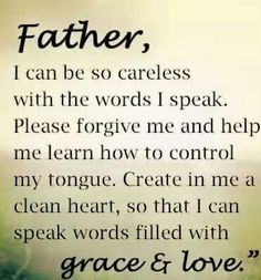 Prayer to speak with Grace