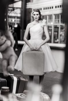 Bobbi Dazzler bridal gown from www.kittyanddulci... as seen on London Bride