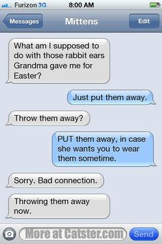 Texts from Mittens: Post-Easter Disappointment Edition | Catster
