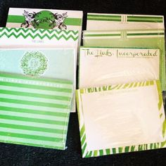 More samples! New designs forThe Links, Incorporatedto come …