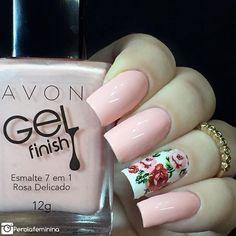 Esmalte: Rosa delicado da @avonbrasil 🌸 Película da parceira @dellartepeliculas 💅🏻 ✨ •Compras pelo site: 💻www.dellartepeliculas.com.br •Frete Fixo: R$5,00 para todo o Brasil •Compras acima de R$30,00 frete grátis  10% de desconto usando o cupom 🌸PEROLAFEMININA🌸  #blogger #bloggers #fashion #fashionbloggers #nails #nailpolish #nails2inspire #deesmalte #dicasdeunhasbr #viciadaemvidrinhos #esmalte #esmaltes #esmaltedasemana #esmaltedodia #unha #unhas #unhasdecoradas #unhasperfeitas…