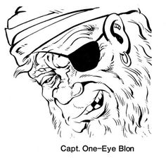 "Ahoy, Cap'n. (Kevin Siembieda, ""The Azurerain Pirates"", Pegasus magazine, Judges…"