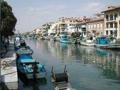 Fishing harbour, Grado, Italy