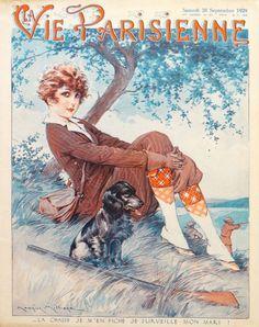La Vie Parisienne, Samedi 28 Septembre 1929 ~ Maurice Millière