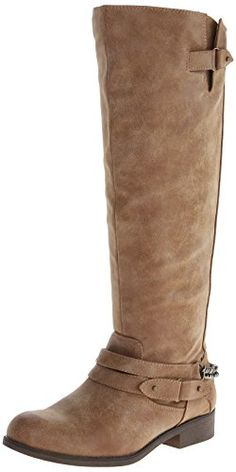 awesome Madden Girl Women's Caanyon Riding Boot