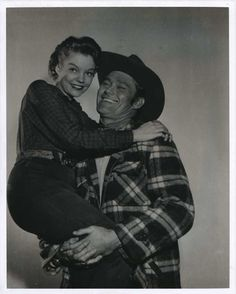 Chuck Connors 8x10 Glossy B/W Photo 2