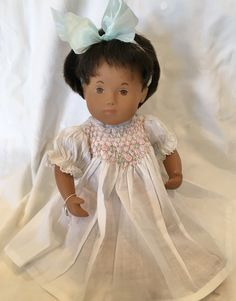 Smocked dress for baby