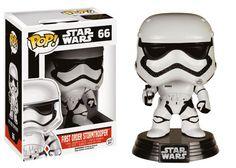 Star Wars Episode VII POP! Vinyl Wackelkopf-Figur First Order Stormtrooper 10 cm