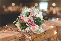 Amazing rustic  wedding with purple and pink color tones!