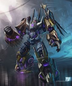 Transformers Fall of Cybertron Bruticus