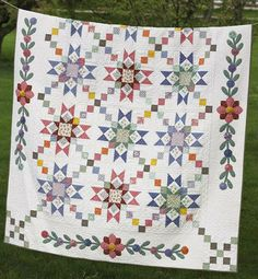 Granny's Stars Quilt Pattern   --- appeared in the J/A '09 F&P Love of Quilting mag.