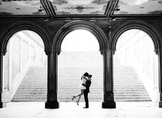 Engagement Session in Central Park by, Lindsay Madden Photography