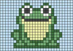 Alpha friendship bracelet pattern added by KrazyKnotz. Pixel Art Templates, Perler Bead Templates, Diy Perler Beads, Perler Bead Art, Melty Bead Patterns, Hama Beads Patterns, Beading Patterns, Easy Pixel Art, Pixel Art Grid
