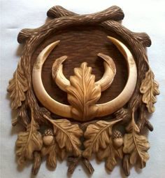 Taxidermy Decor, Paper Quilling For Beginners, Wild Boar, Wooden Art, Woodcarving, Wood Crafts, Hunting, Skull, Pattern
