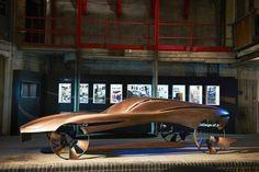 ETC: Jaguar sculpture by RCA design students is a minimal beauty