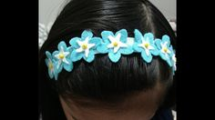 Forget me not/myosotis flower headband