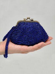 Handmade Beaded Purse - Coin purse - Evening bag - Knit bag - Bags and Purses - Beaded by MeetBestKnit on Etsy Beaded Clutch, Beaded Purses, Knitted Bags, Knit Bag, Womens Purses, Beautiful Gifts, Crochet Gifts, Evening Bags, Leather Purses