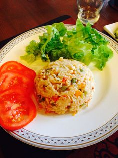 Colombian arroz con pollo! Chicken with rice and vegetables!
