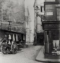 photographie de la ville de Paris - rue de la Montagne Sainte-Geneviève - Photo de Charles Marville