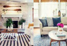 11 Προτάσεις για καλοκαιρινή διακόσμηση στο σαλόνι σου! Couch, Furniture, Home Decor, Settee, Decoration Home, Sofa, Room Decor, Home Furnishings, Sofas