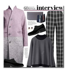 """60-Second Style: Job Interview"" by beebeely-look ❤ liked on Polyvore featuring Proenza Schouler, Mulberry, plaid, streetwear, jobinterview, 60secondstyle and dezzal"