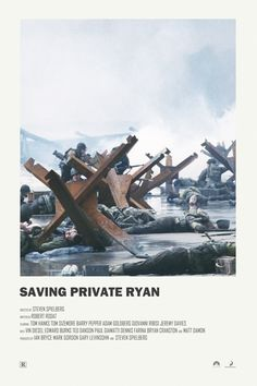 Andrew Sebastian Kwan - Andrew Sebastian Kwan Saving Private Ryan alternative movie poster Visit my Store - Iconic Movie Posters, Minimal Movie Posters, Minimal Poster, Cinema Posters, Movie Poster Art, Iconic Movies, Movie Collage, Film Posters, Good Movies