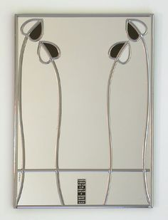 Charles Rennie Mackintosh mirror