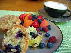 muffiny z owocami