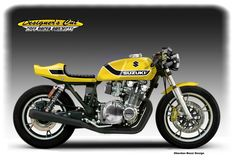 "SUZUKI GS 1100 ""YELLOW WEAPON"""