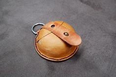 丸コインケース - And Leatherの革ブログ