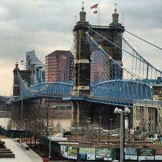 The singing Bridge Cincinnati & Northern KY