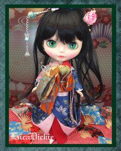 ... OOAK Custom Blythe 113 Geisha Girl by LucaDickie ... Blythe Doll