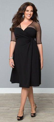 Plus Size Onyx Sugar & Spice Dress