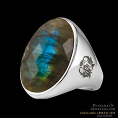 Metalsmiths Sterling Item #24MS1 - labradorite ring