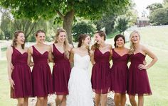 Fall Bridesmaid Dresses. Like the colour but not the style at all!