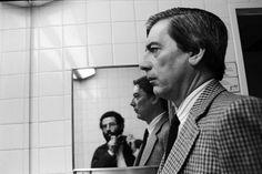 Vasco Szinetar y Vargas Llosa (Fotografía de Vasco Szinetar)