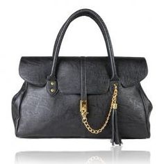 $19.00 Elegent Women's Bag With Clasp Chain and Tassel Embellished Solid Color  http://www.everbuying.com/product167175.html