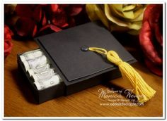 Cute graduation cap/holder for a gift of money, Make It Manly Online Class:Card 3
