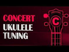 Concert ukulele tuning - Online Ukulele Tuner - YouTube Ukulele Tuning, Thing 1, More Fun, Concert, Youtube, Concerts, Youtubers, Youtube Movies